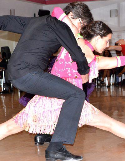 Danzalia Escuela de Baile Zaragoza. Concurso bailes de salón