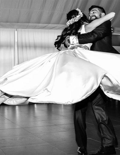 Danzalia Escuela de Baile. Baile nupcial novios